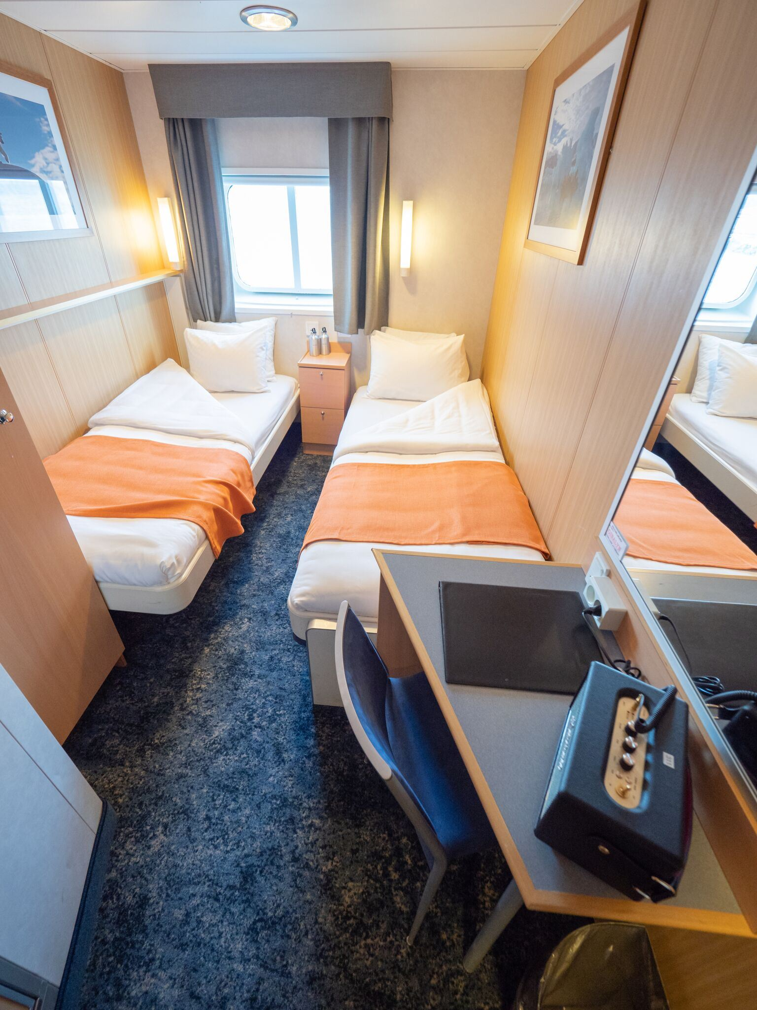 Twin cabin (2 twin beds)