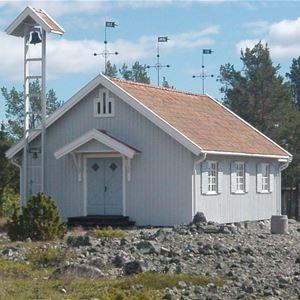 © Hudiksvallsbygdens församling, Ljusgudstjänst i Olmens kapell