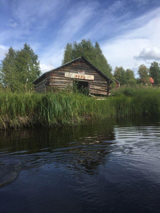 Canoeing in Junsele