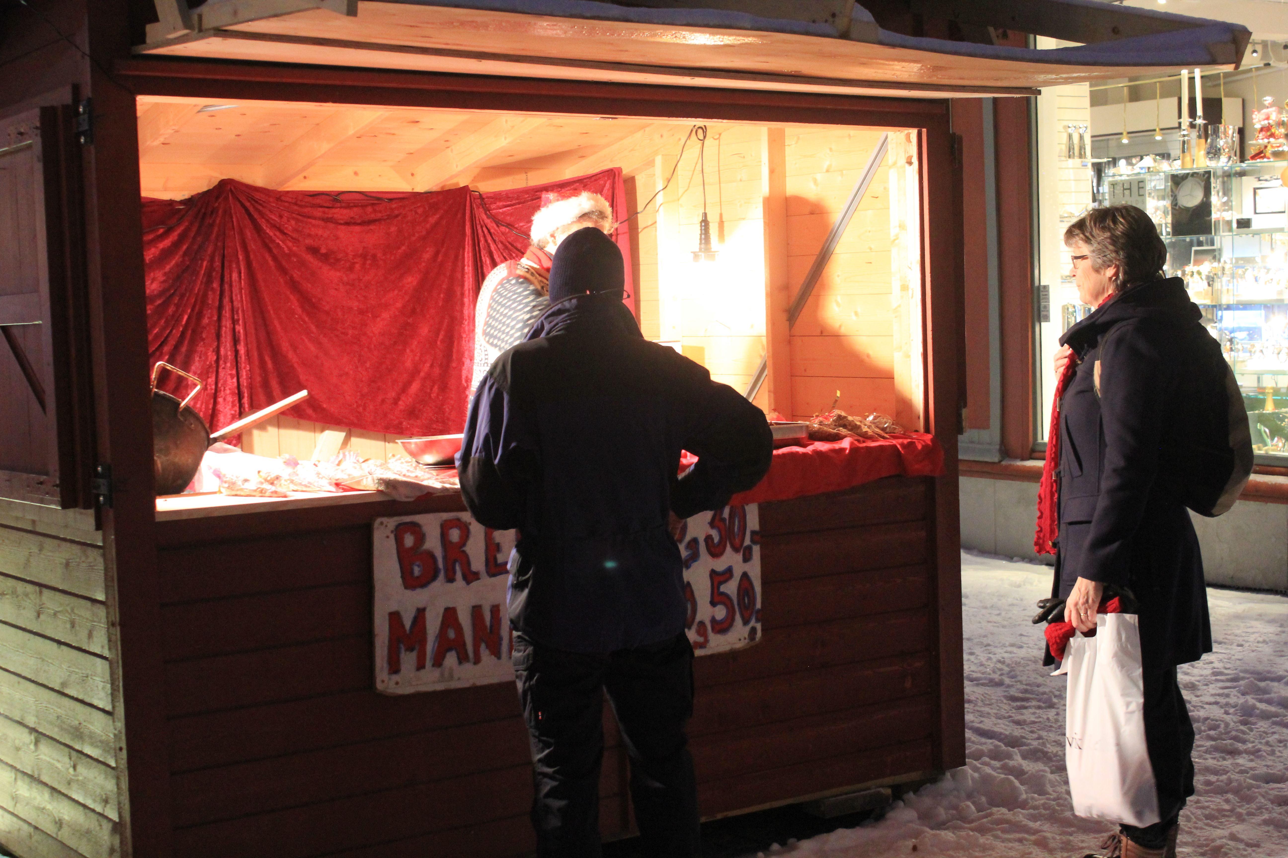 Christmas market in Lillehammer