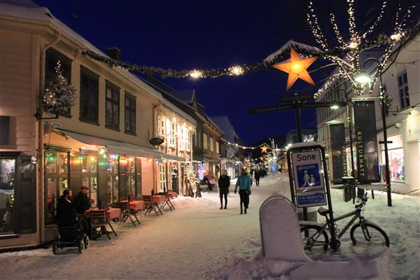 Christmas holiday in Norway