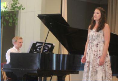 Nordisk  Sångfestival - Konsert med årets lovade studenter från Master Class