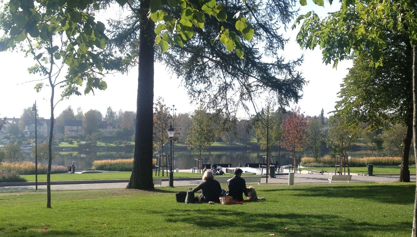 Sommerspaß im Döbelns Park