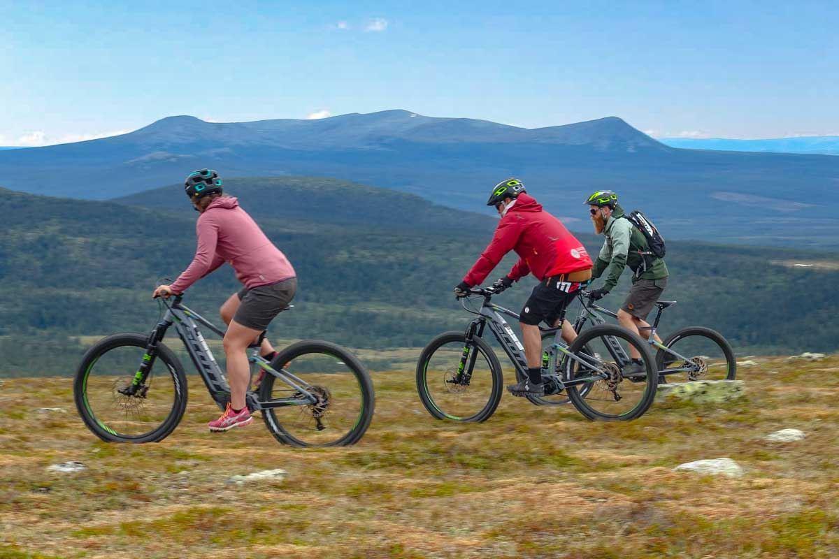 © Karins Sportbod, Guidad cykeltur med el-mountainbike ink. lunch