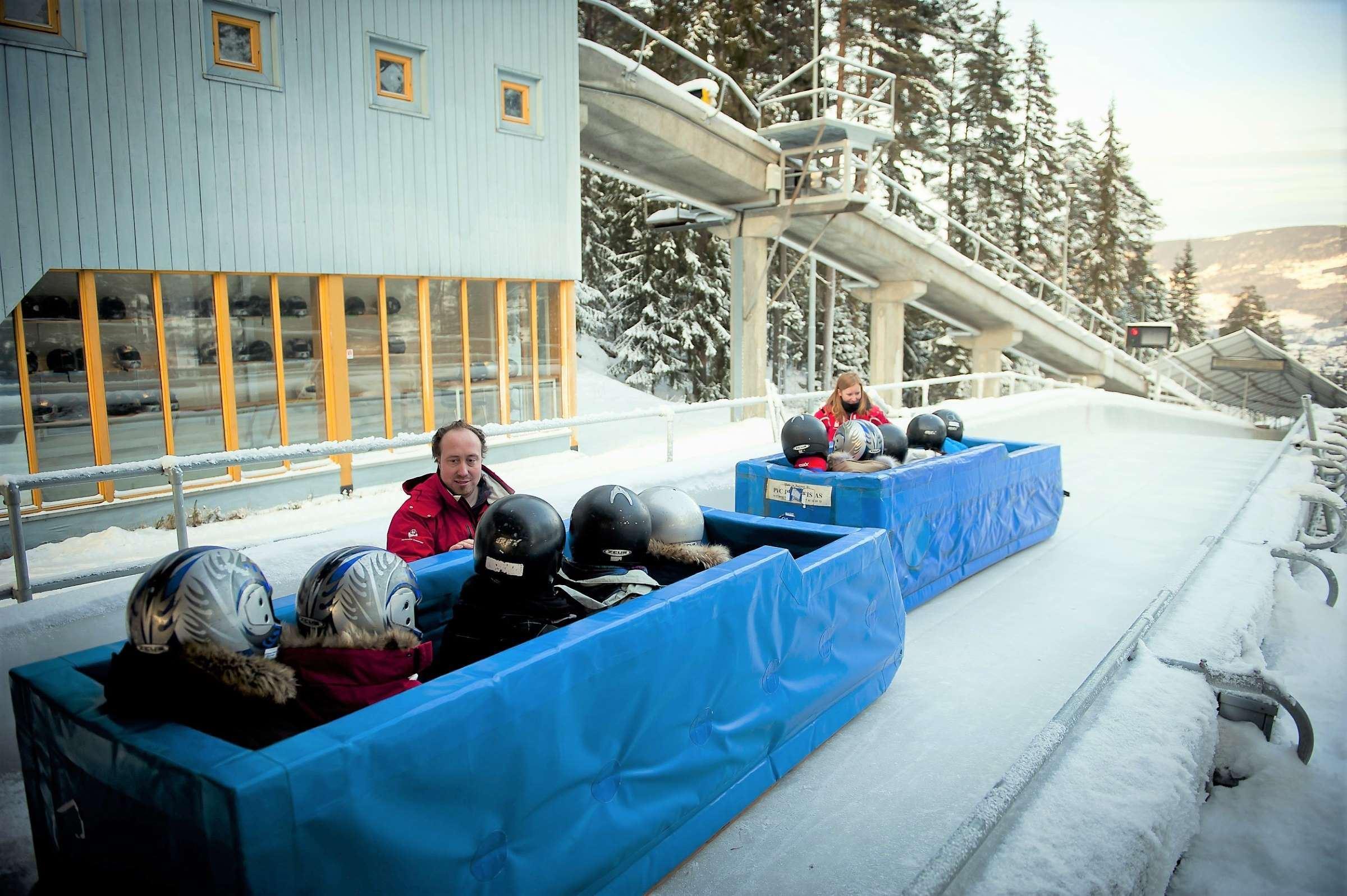 Lillehammer Bob und Rodelbahn