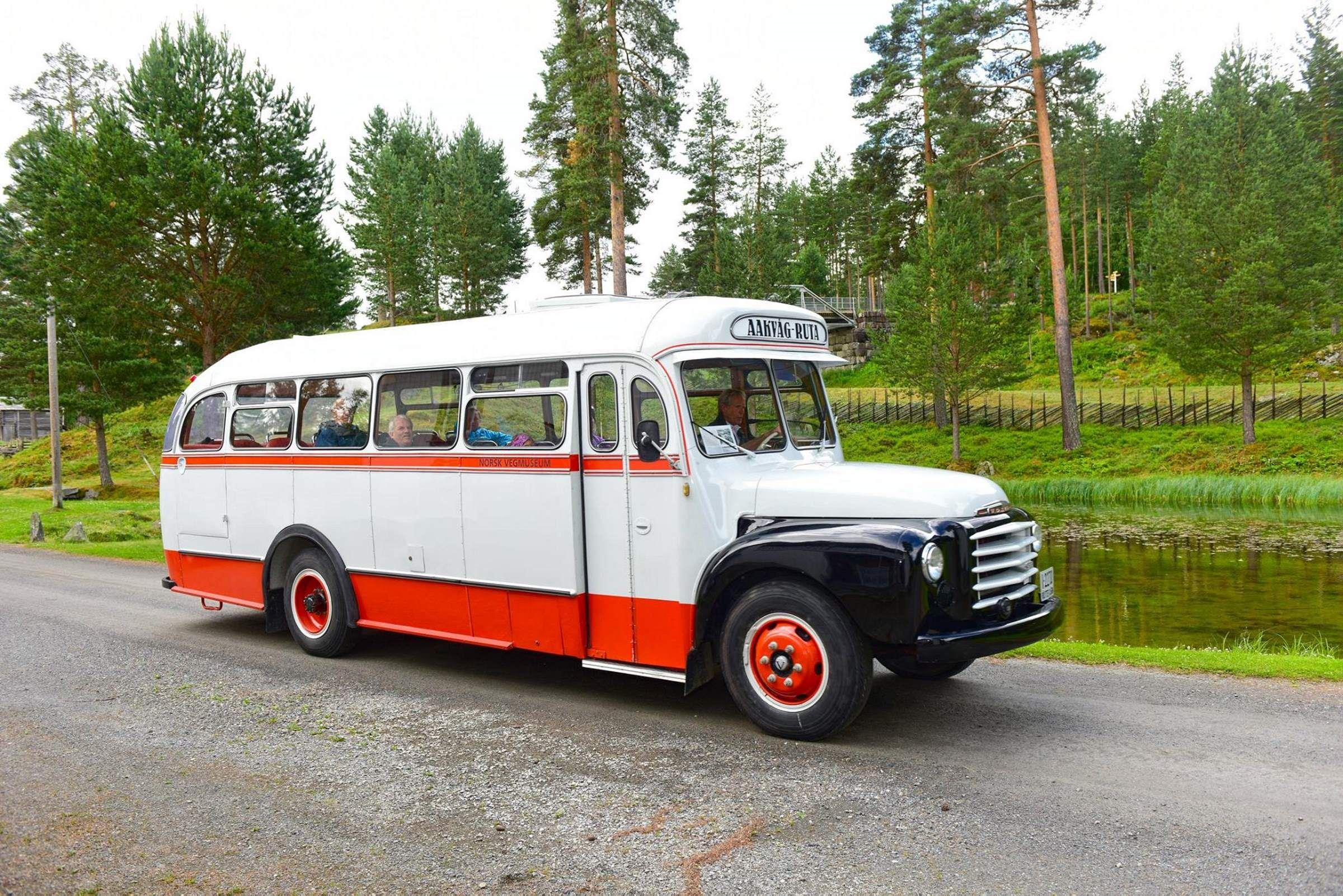 Das norwegische Strassenmuseum
