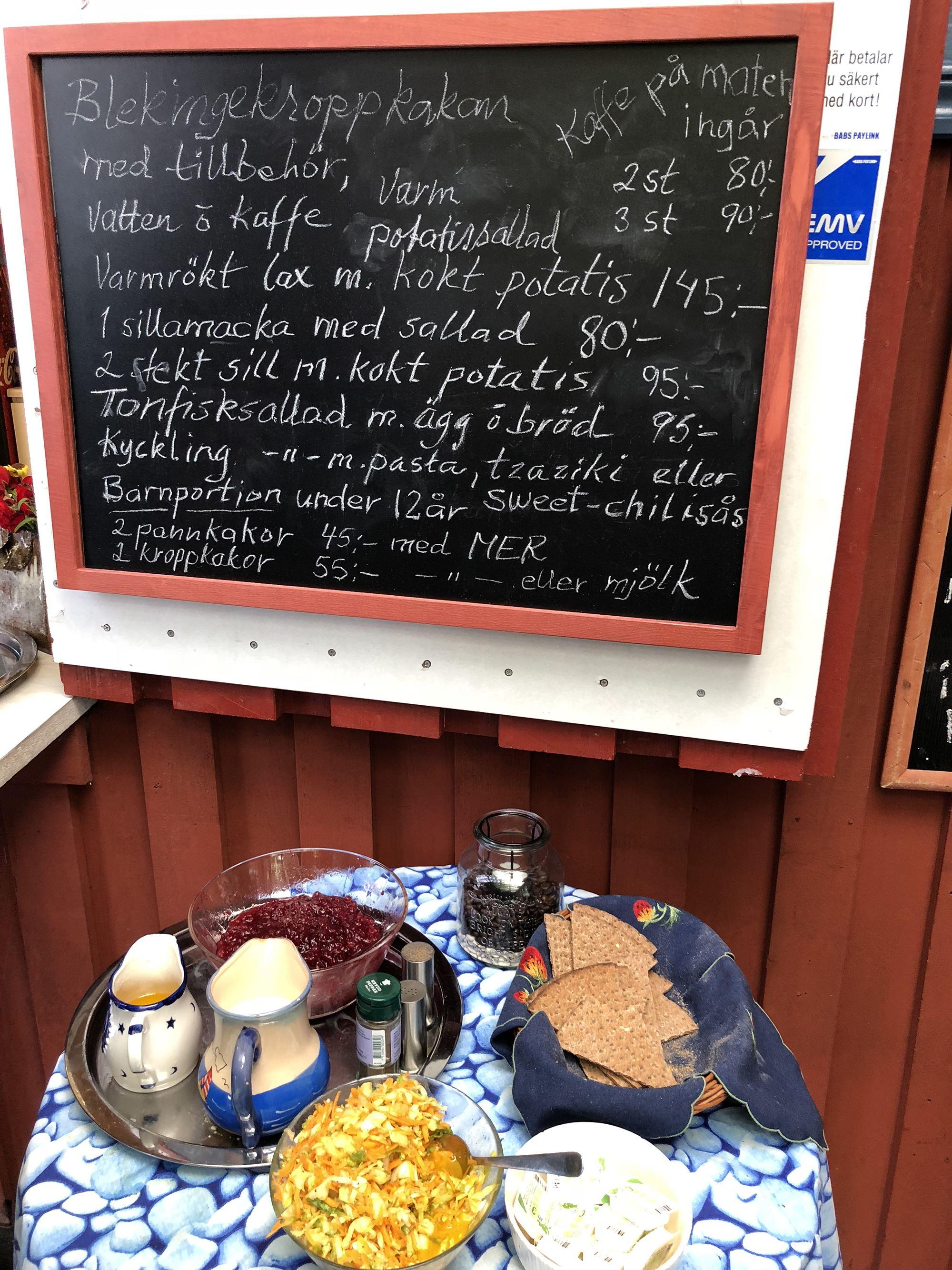 Brofästet Senoren gårdsbutik & Baltic café