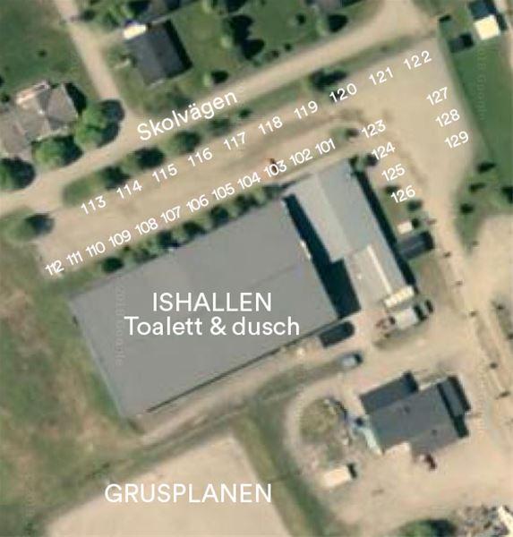 """Lastbilsträffen campingplatser """"Ishallen"""""""