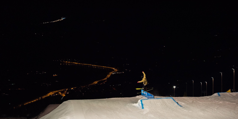 Gisle Johnsen,  © Hafjell, Alpinco, Kveldskjøring i Hafjell