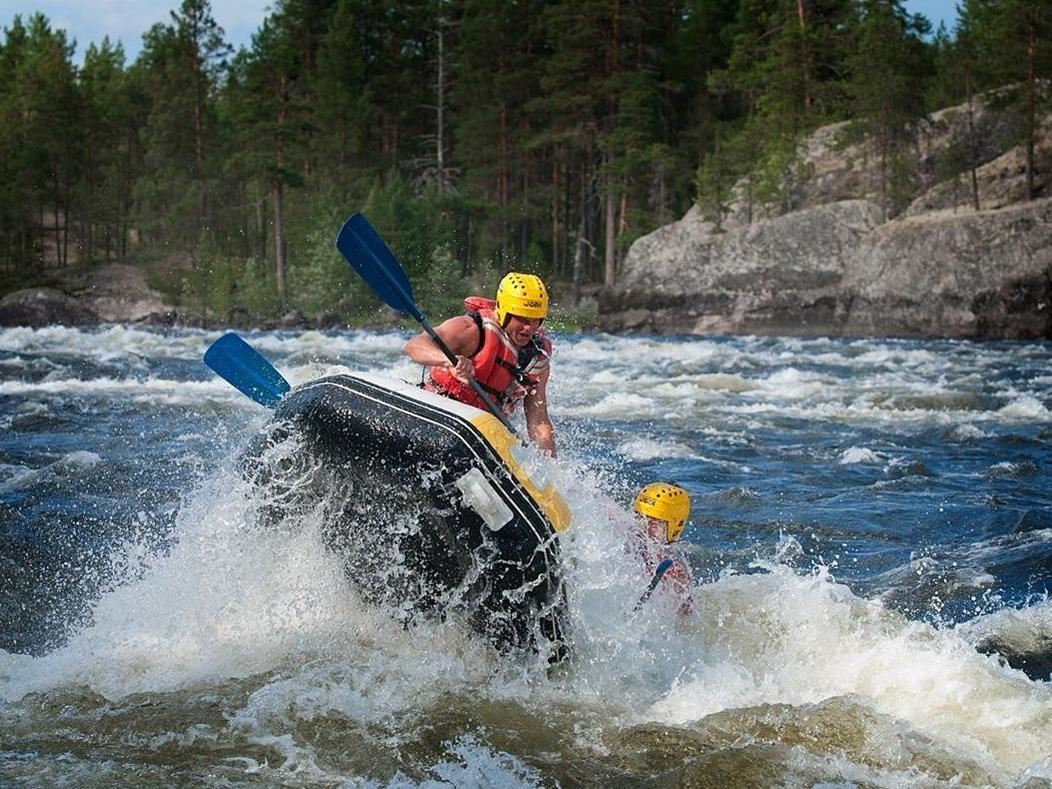 Rafting with Forsknäckarna