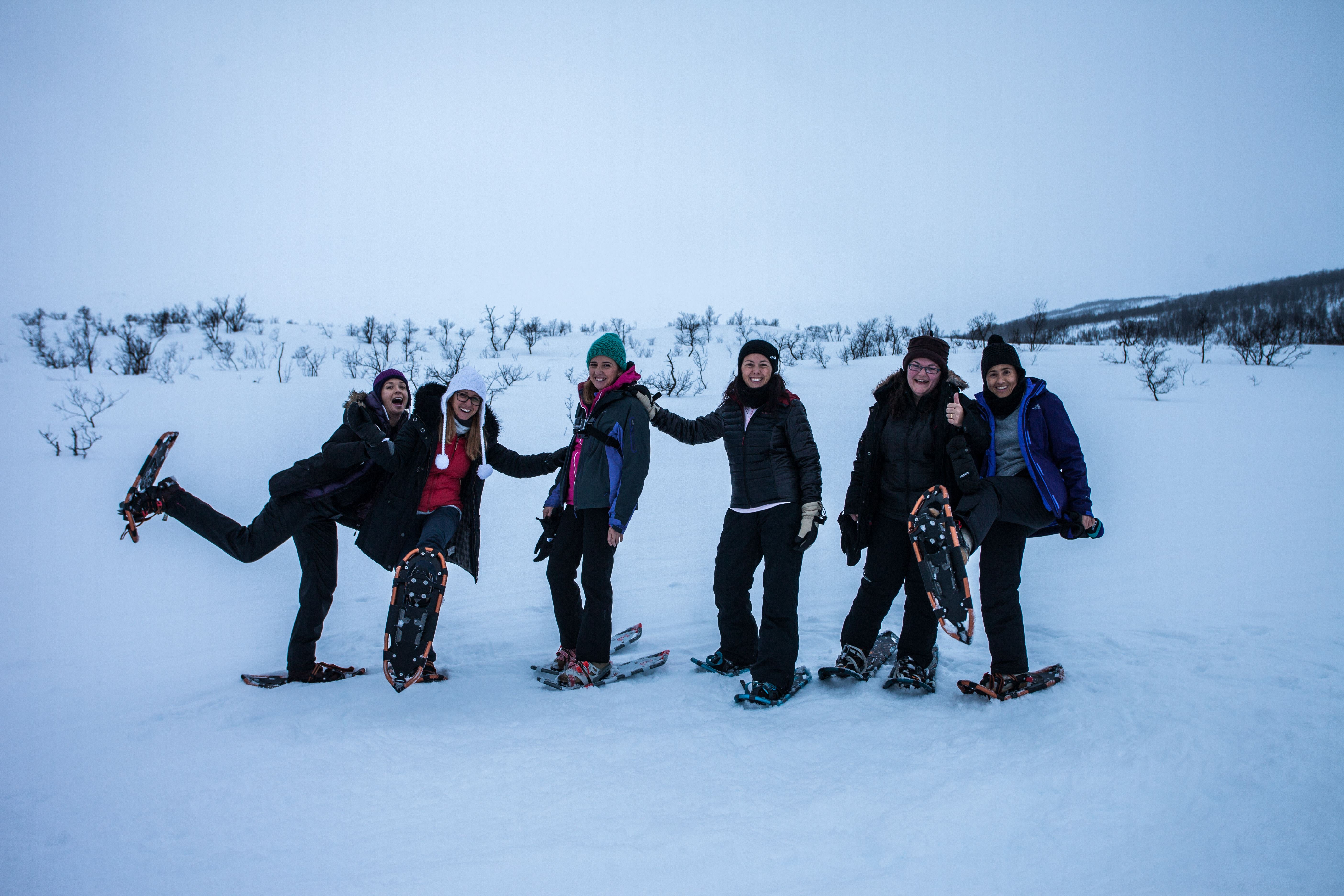 Snowshoeing in a Small Group – Northern Lights Tromsø