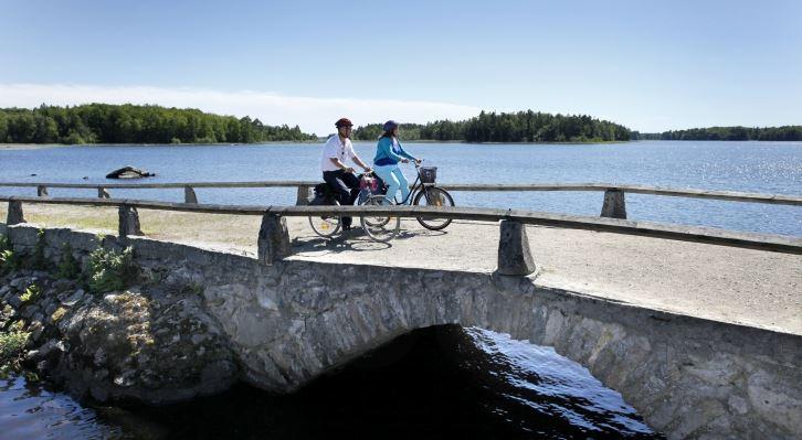 Biking: Åsnen Runt, 140 km