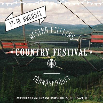 Tännäs Countryfestival 17-19 augusti
