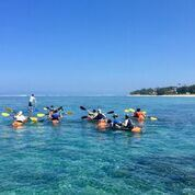 Balade en kayak transparent avec Lagon Réunion