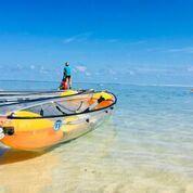 Au rythme du lagon / Sortie Duo en Kayak au coucher du soleil avec Lagon Réunion