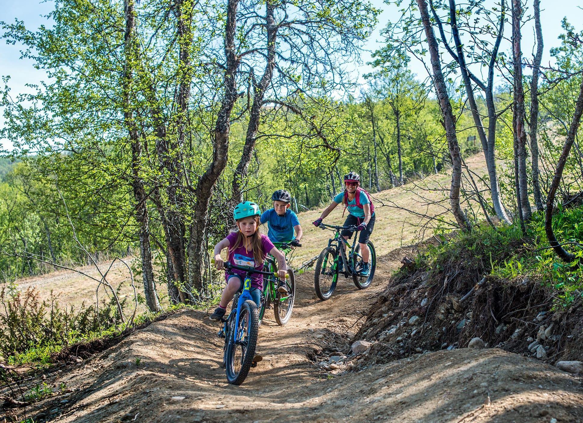 Rickard Bergstedt, Introduktion till flow trail i Ramundbergets cykelpark