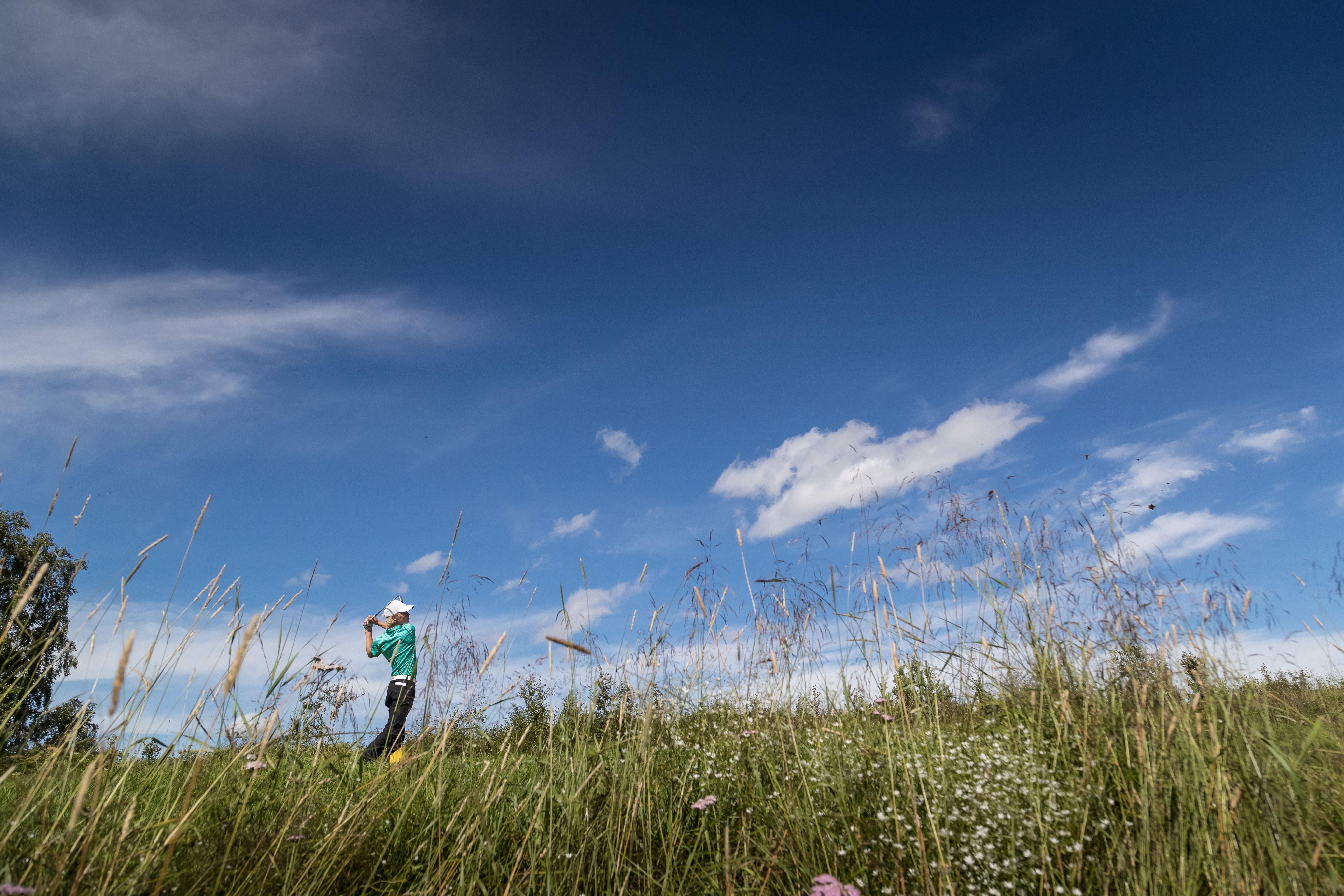 Funäsfjällen, Vacker och klurig golf med variation