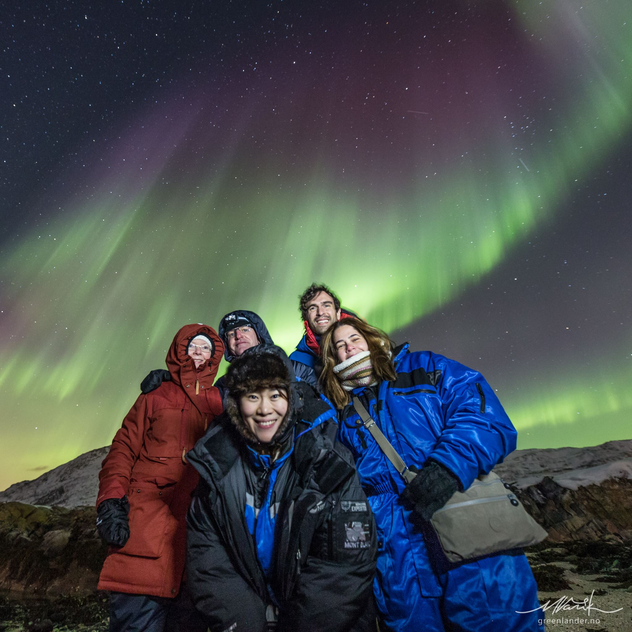 Northern Lights Expedition with Arctic 4WD Truck max. 6 people - Greenlander