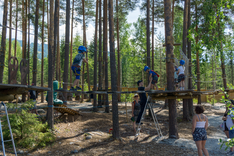 Knut Sørli, Olas klatrepark