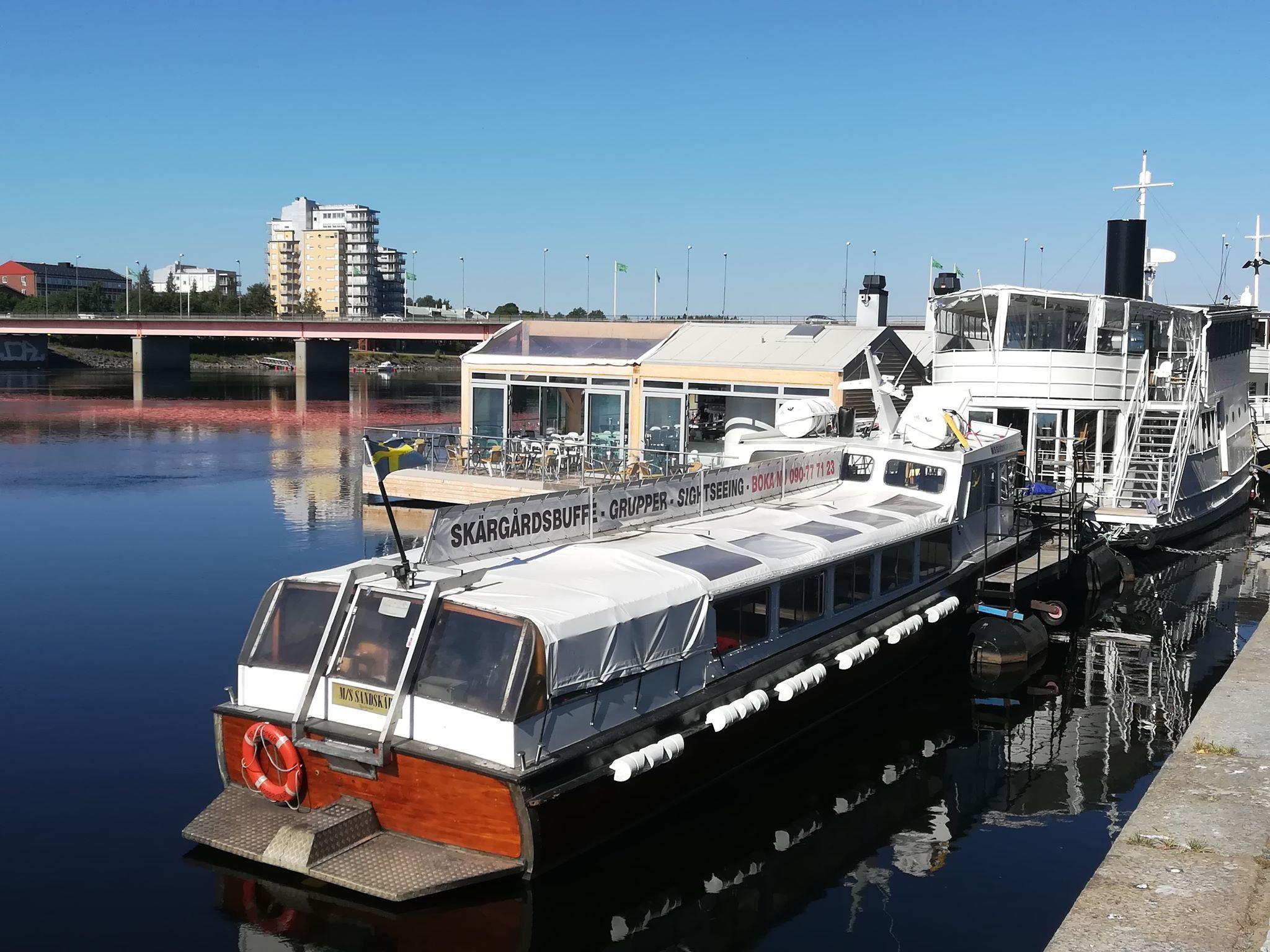 Boat-trip with M/S Sandskär