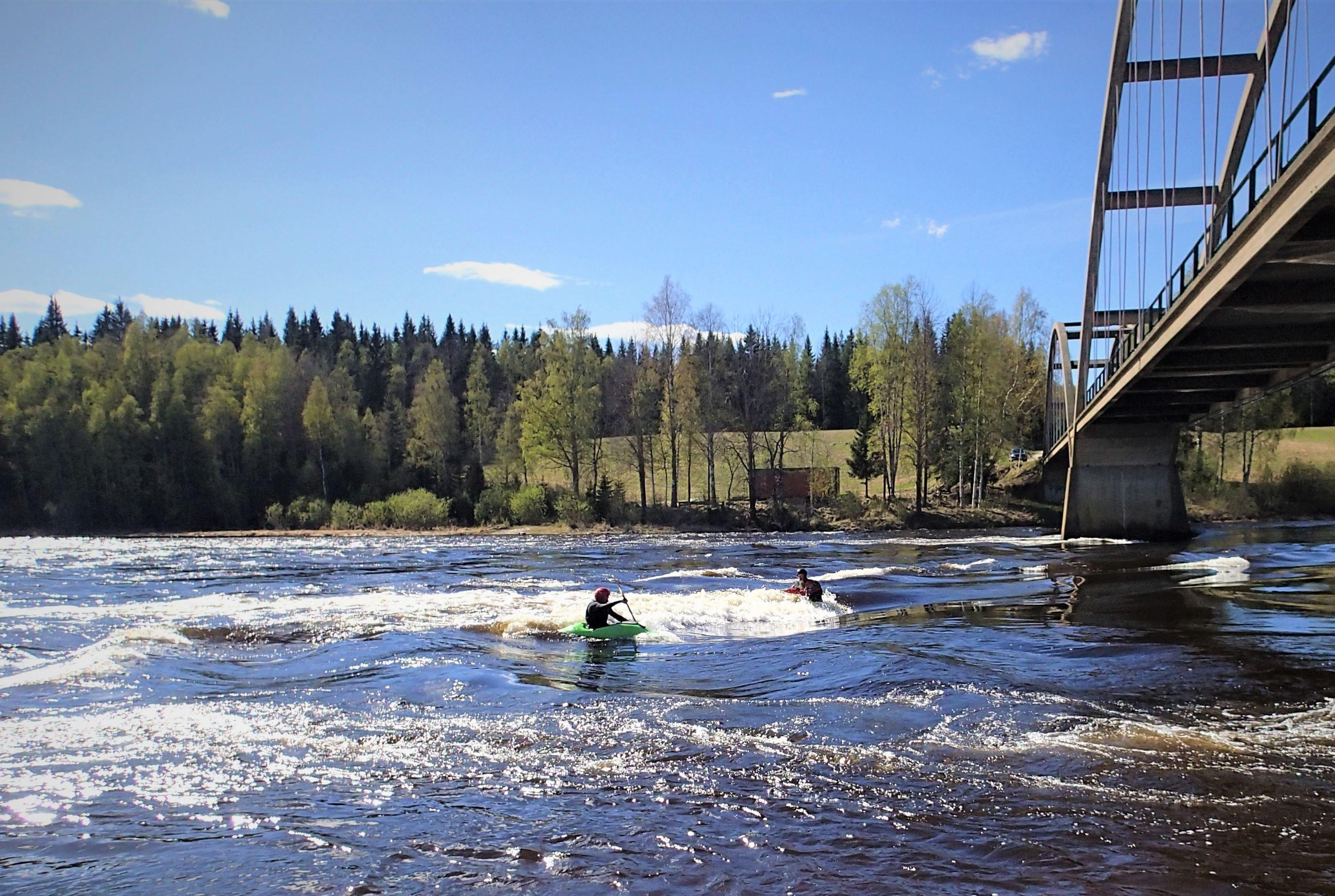 Whitewater kayaking for beginners