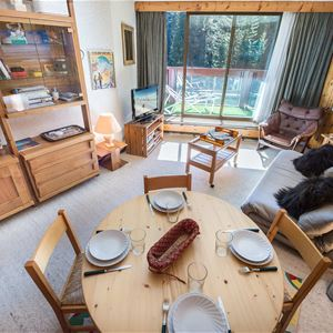 2 rooms 6 people / DOMAINE DU JARDIN ALPIN 102A (Mountain)