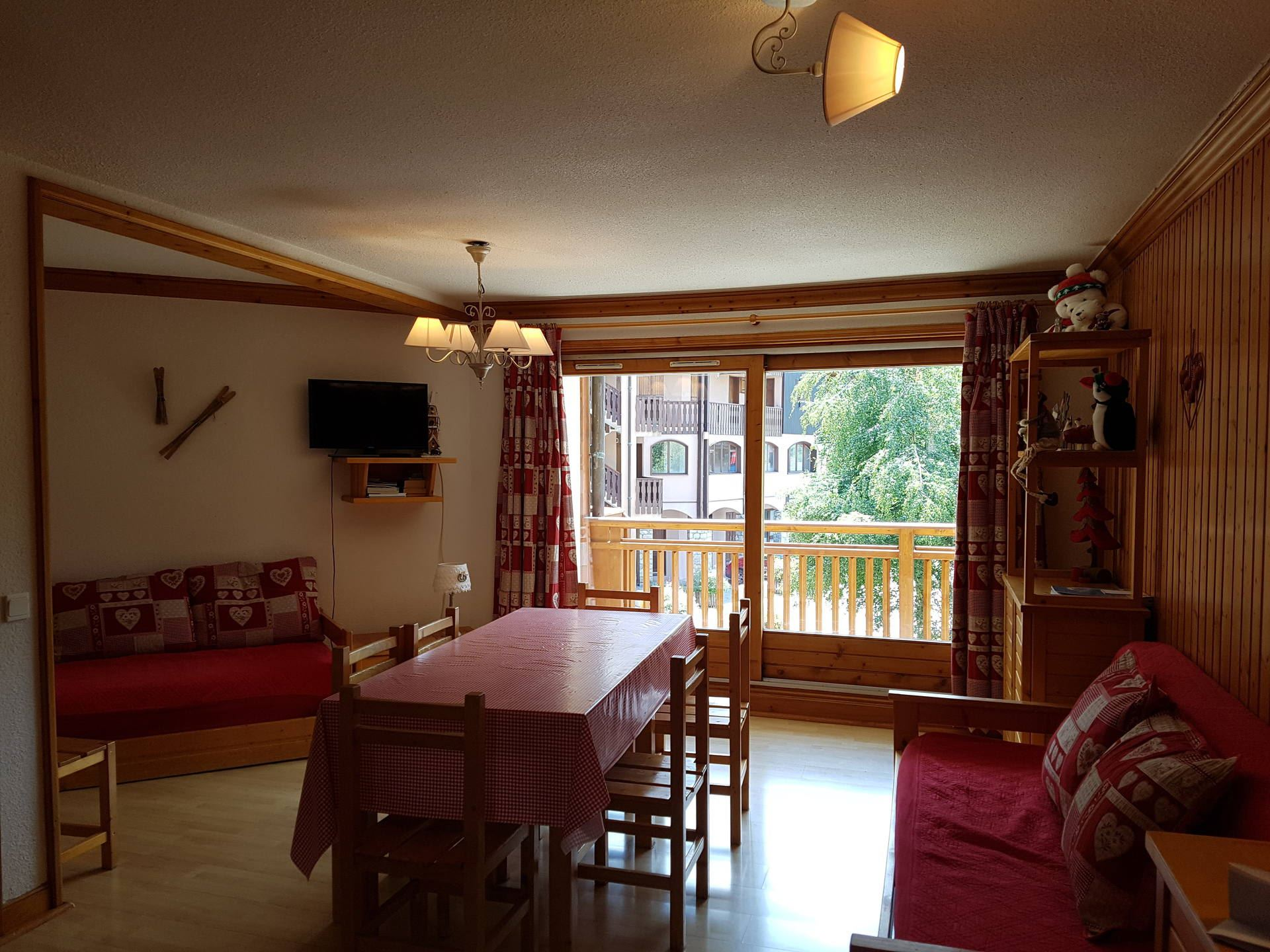 3 Rooms 6 Pers ski-in ski-out / BALCONS DE TOUGNETTE 10