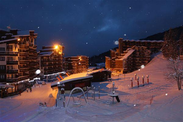 3 pièces cabine, 6 personnes skis aux pieds / Grand Bois A606 (Montagne) / Séjour Sérénité