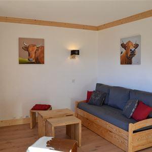 2 rooms, 4 people ski-in ski-out / Saboïa B34 ( Mountain)