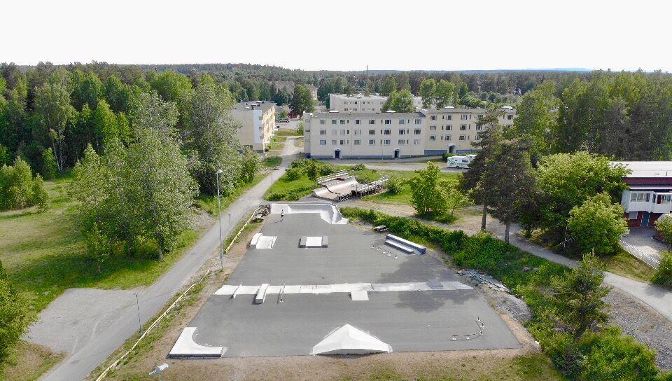 Söderhamns Skatepark på Norr