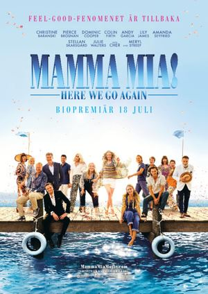 Bio i Konga - Mamma Mia! Here we go again