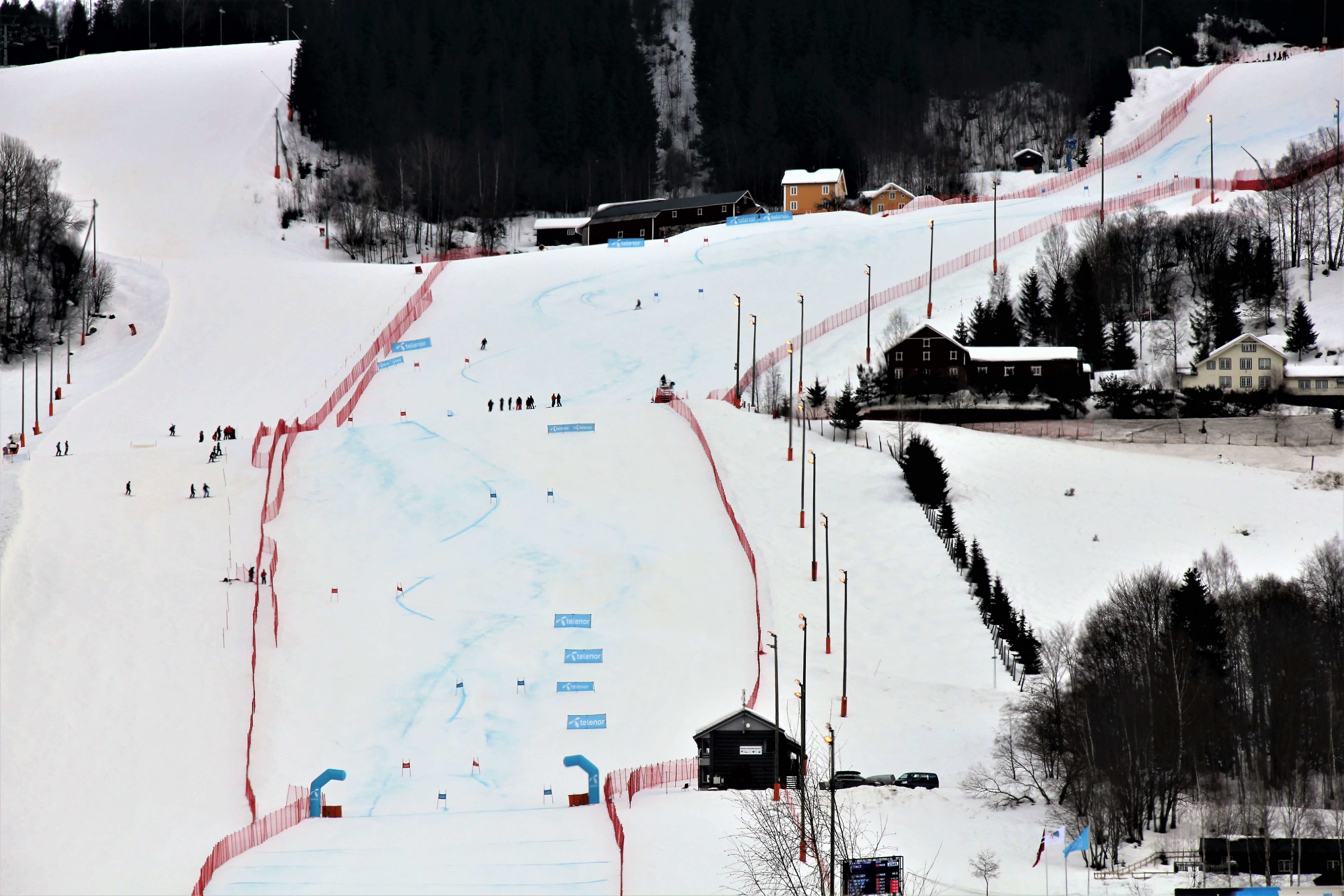 FIS races in Hafjell Alpine Centre, Norway