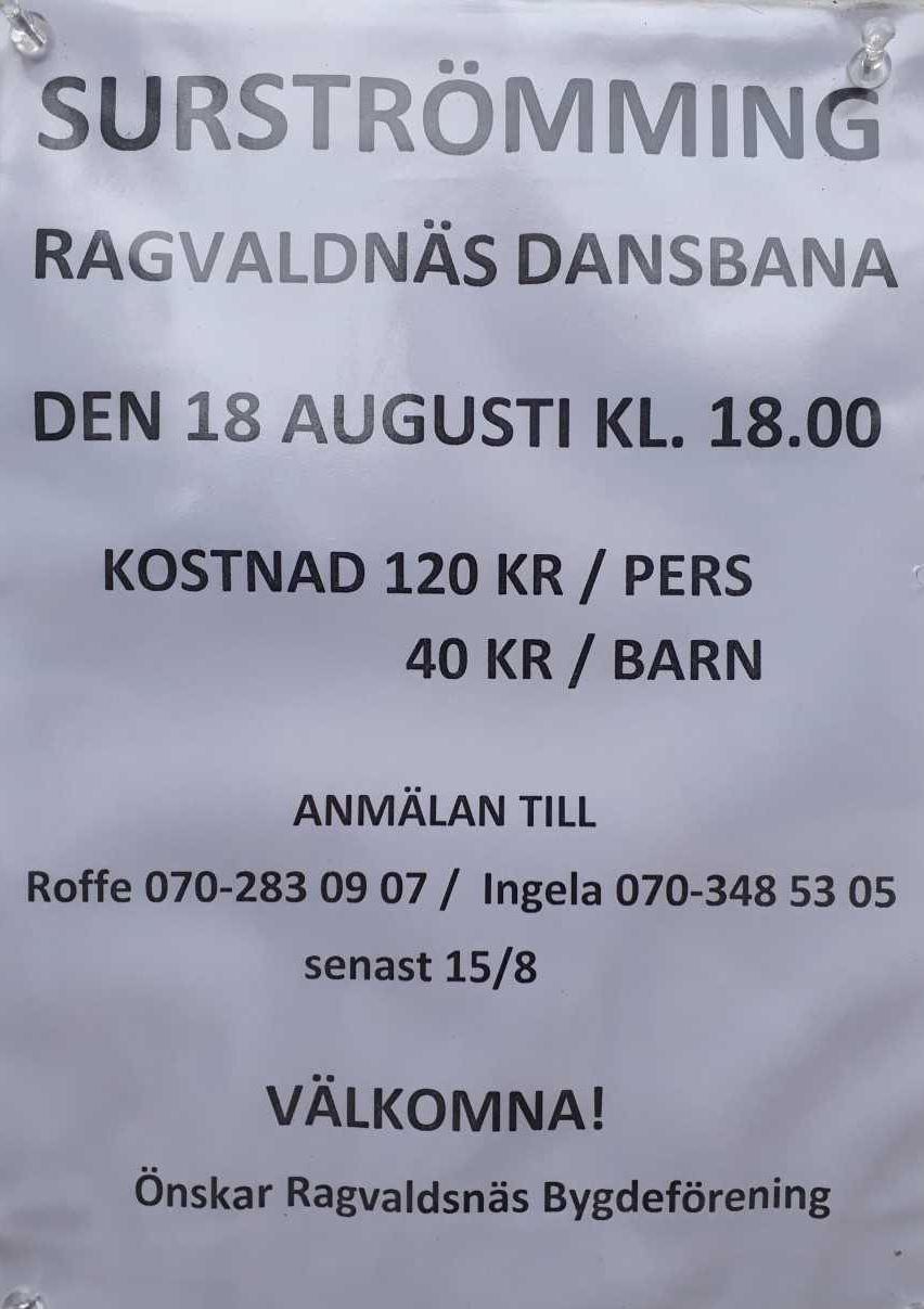 Surströmming i Ragvaldsnäs