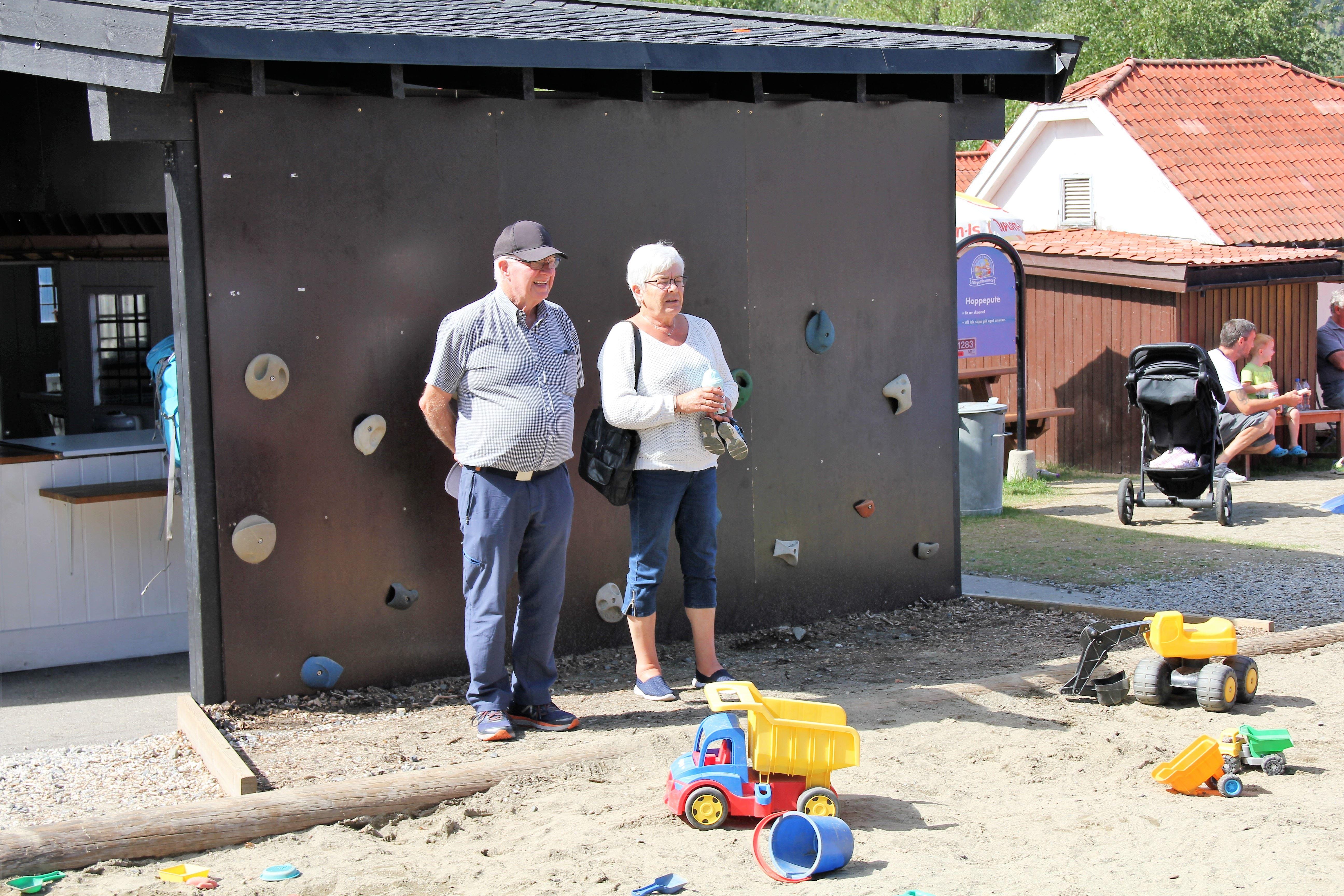Besteforeldredager i Lilleputthammer familiepark