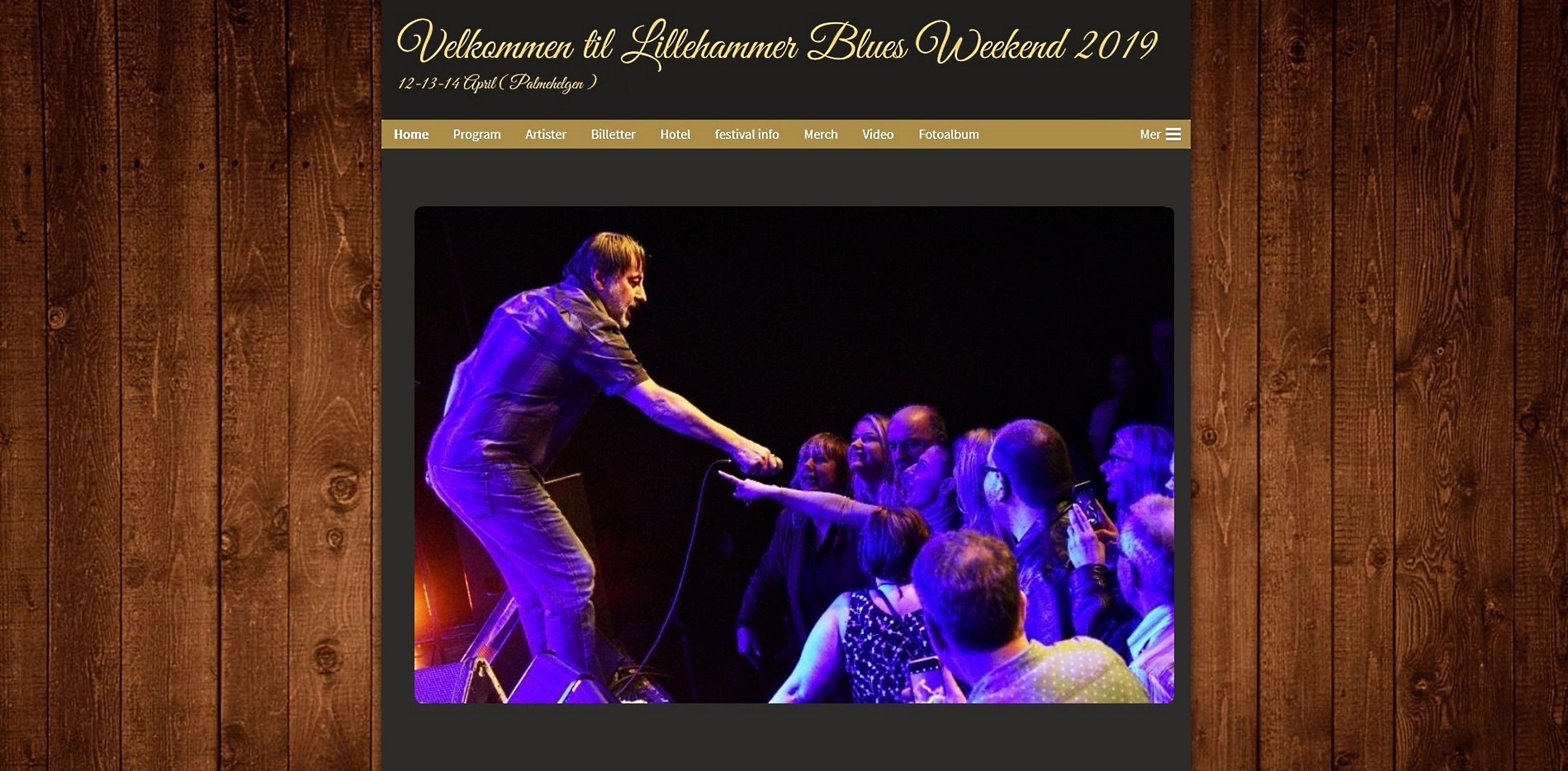 Lillehammer blues weekend