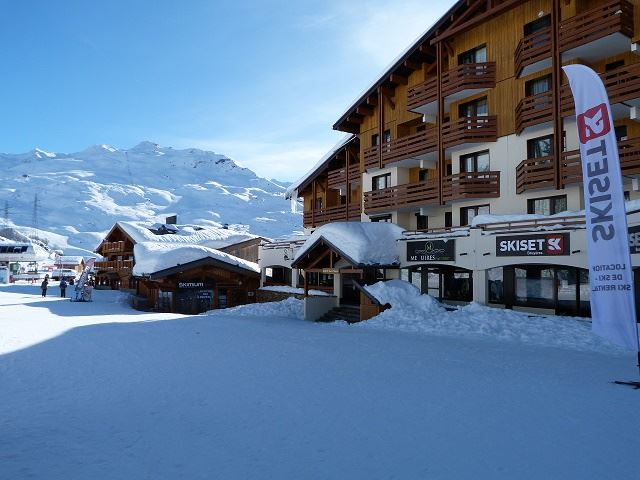 2 room 5 people ski-in ski-out / OREE DES PISTES 25