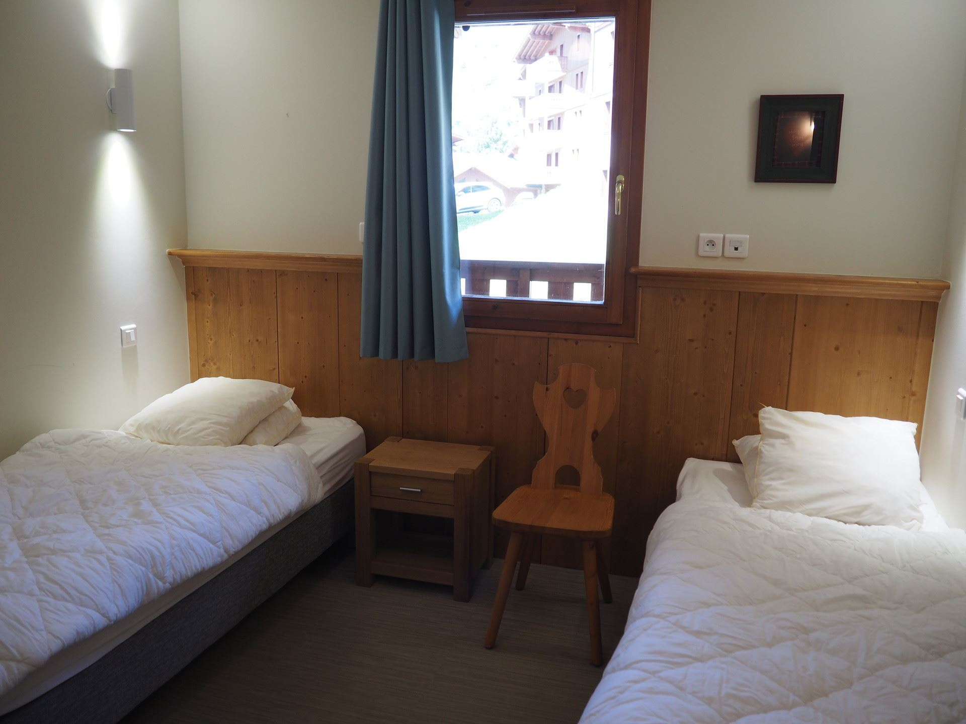 3 Rooms 6 Pers ski-in ski-out / LES CRISTAUX 24