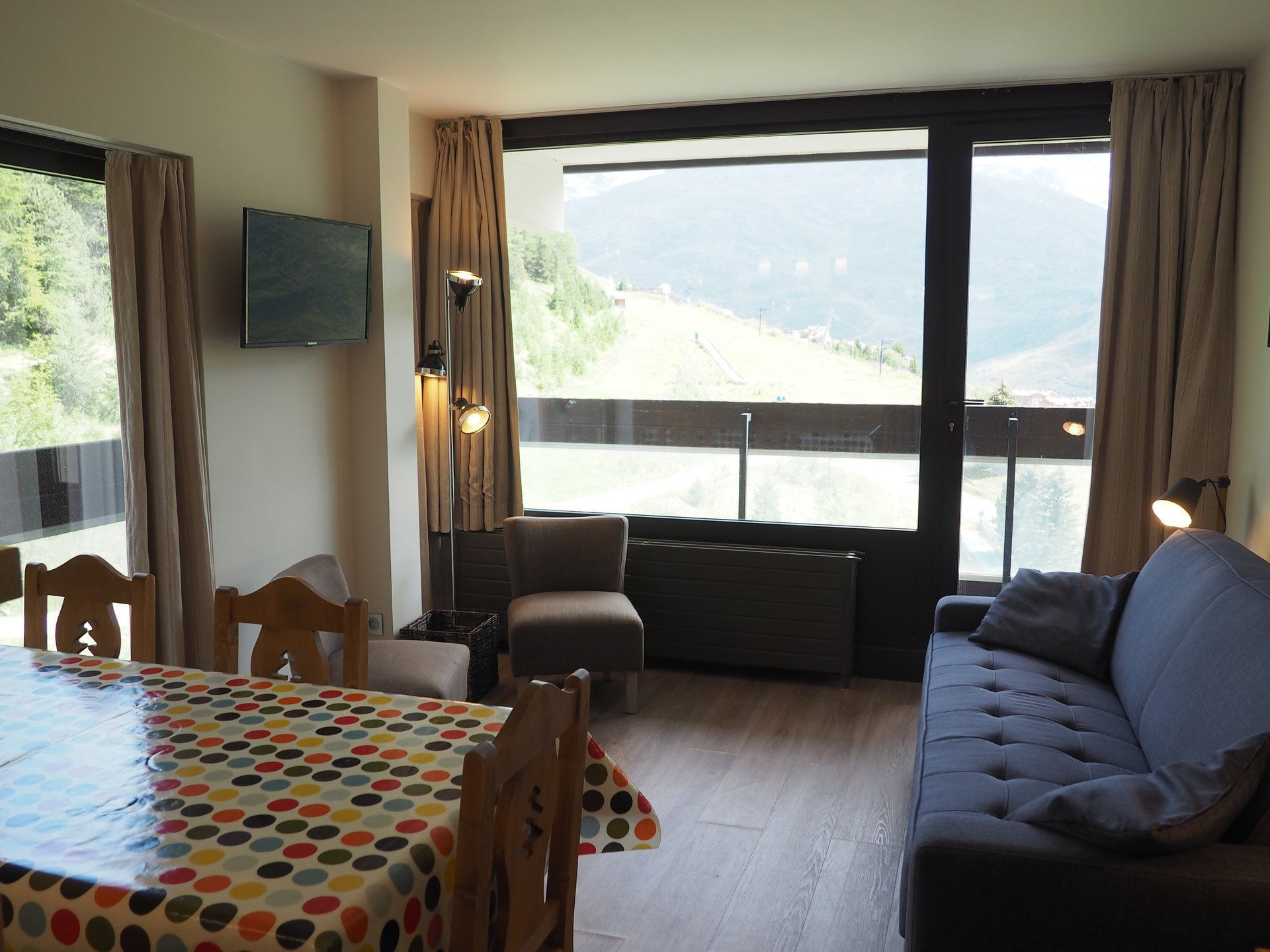 2 room 6 pers ski-in ski-out / DORONS 605