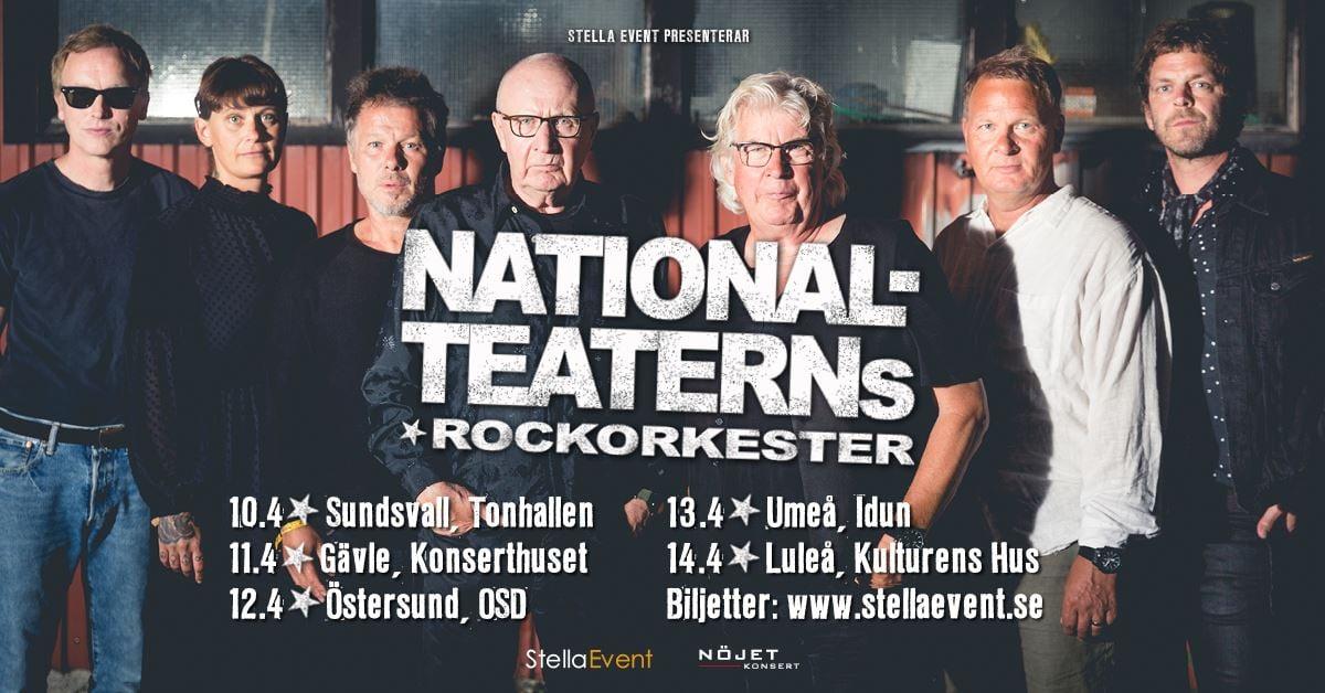 © Stella Event, Nationalteaterns Rockorkester
