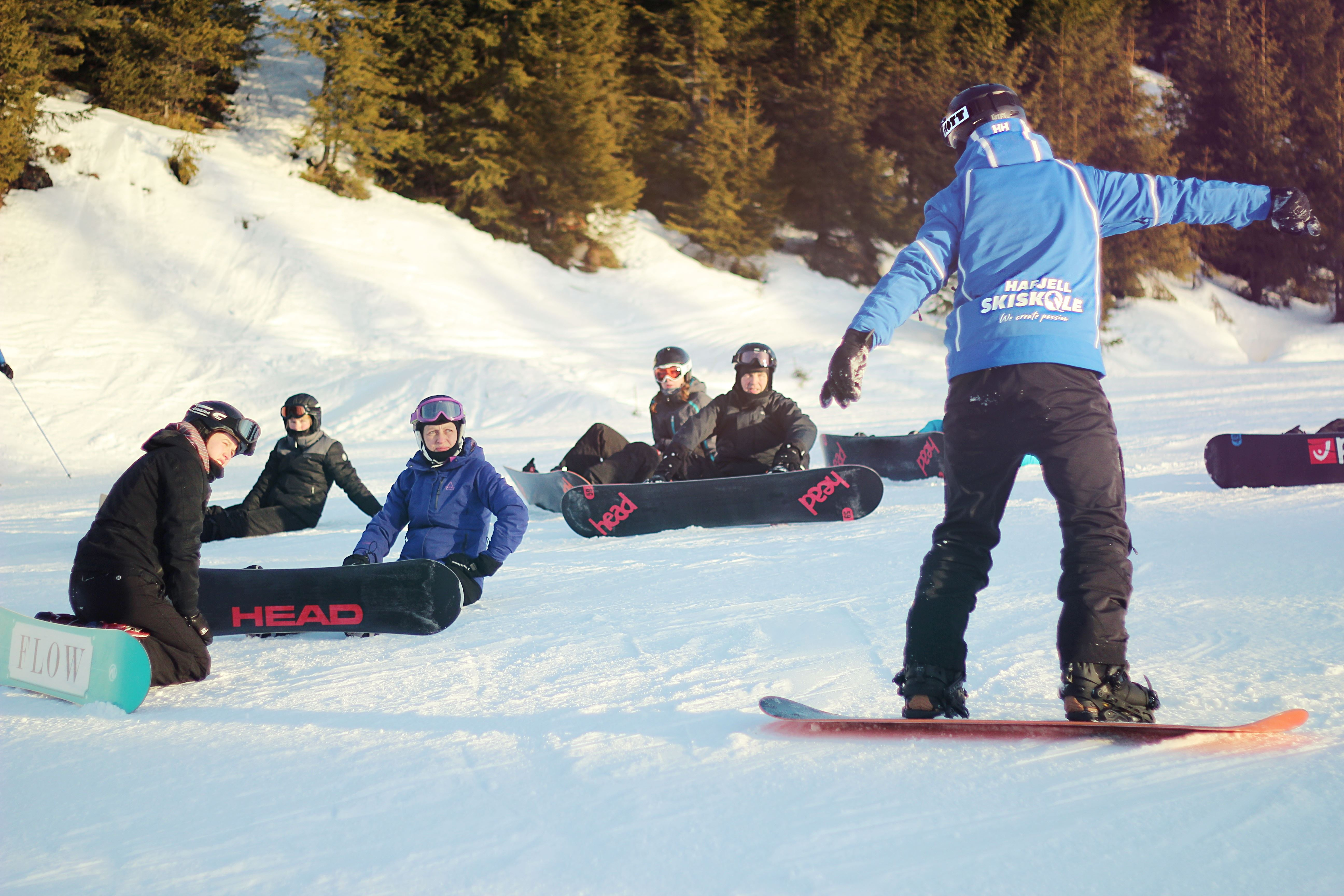 Grupper Snowboard 8-15 år