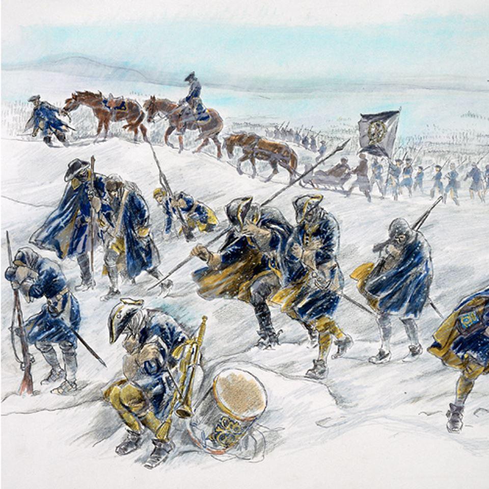 Karoliner och Konflikter