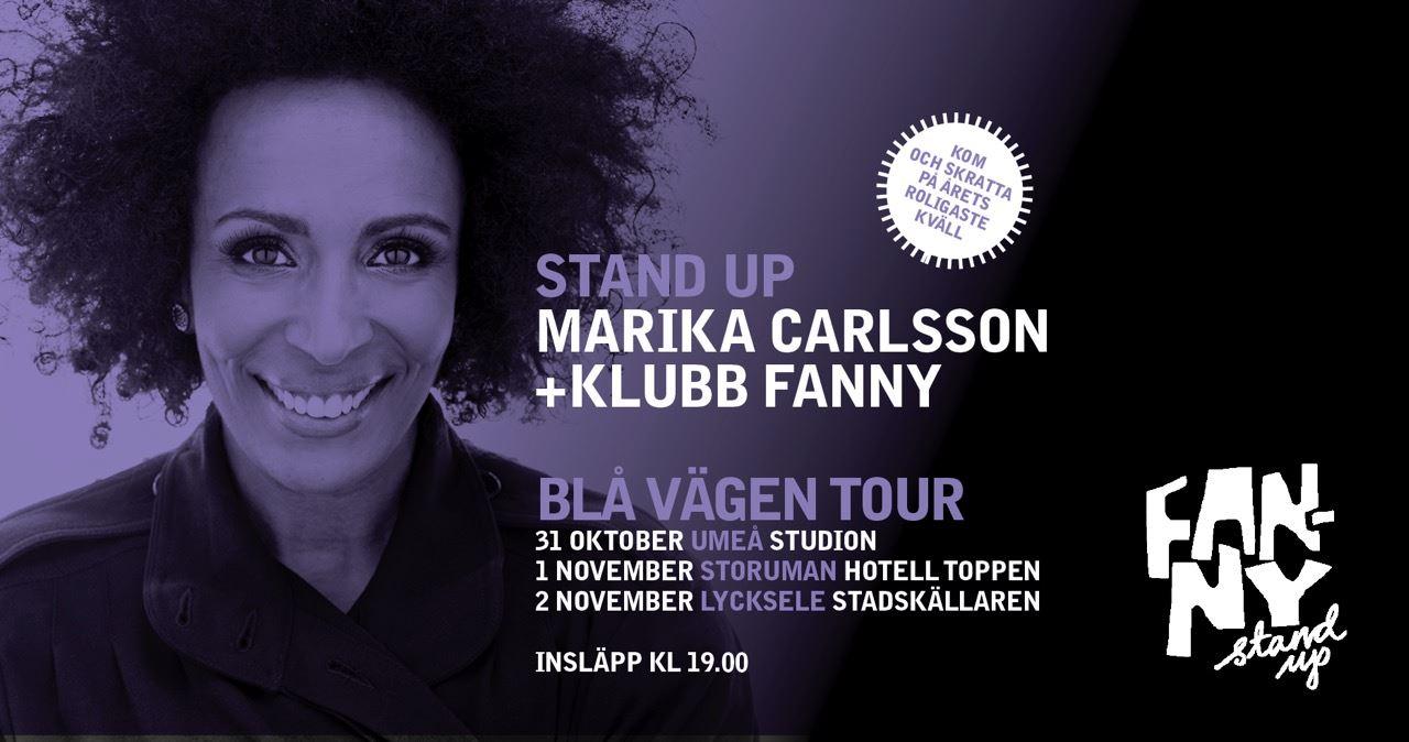 Klubb Fanny med Marika Carlsson