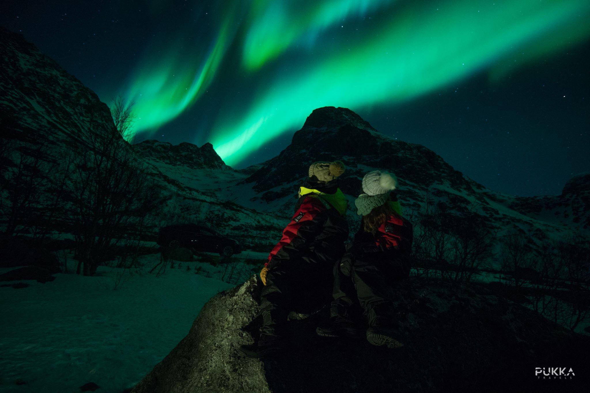 Northern Lights x Tesla Experience - Pukka Travels