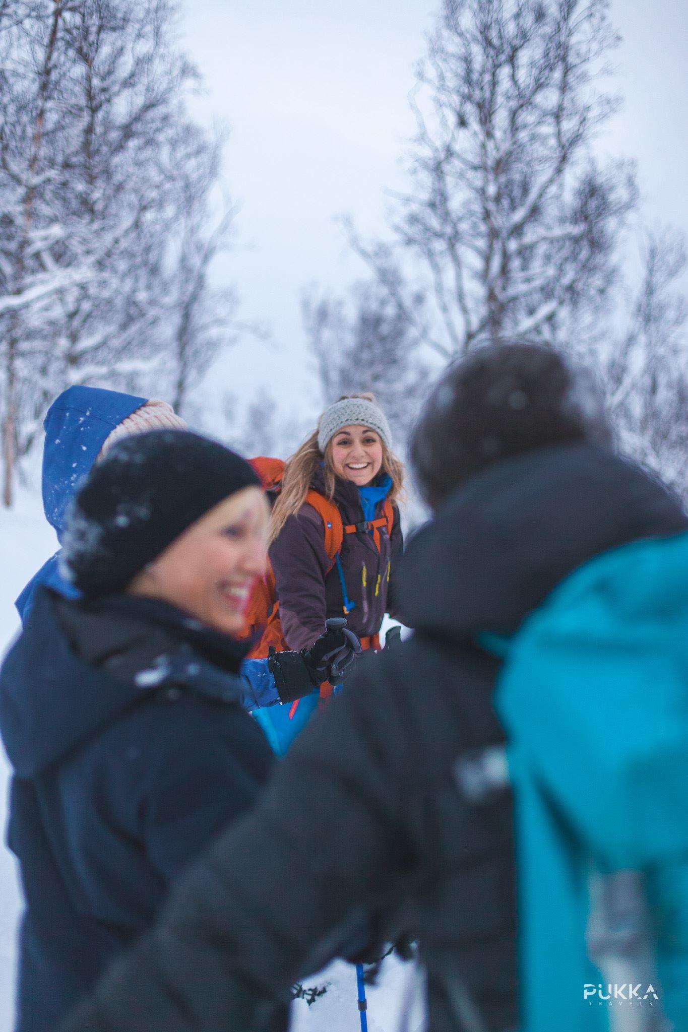 Snowshoe Hike Tesla Experience - Pukka Travels