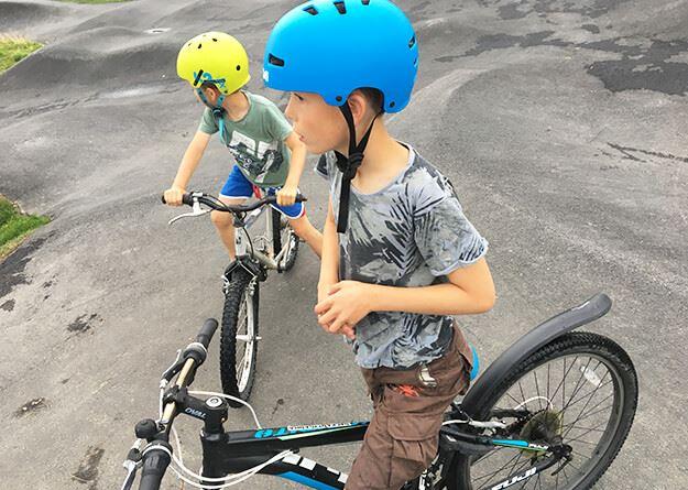 Foto: Visit Östersund,  © Copy: Visit Östersund, Barn som cyklar