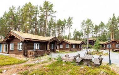 Fjällripan Lodge - Lyxiga timmerstugor med vackert läge vid sjön