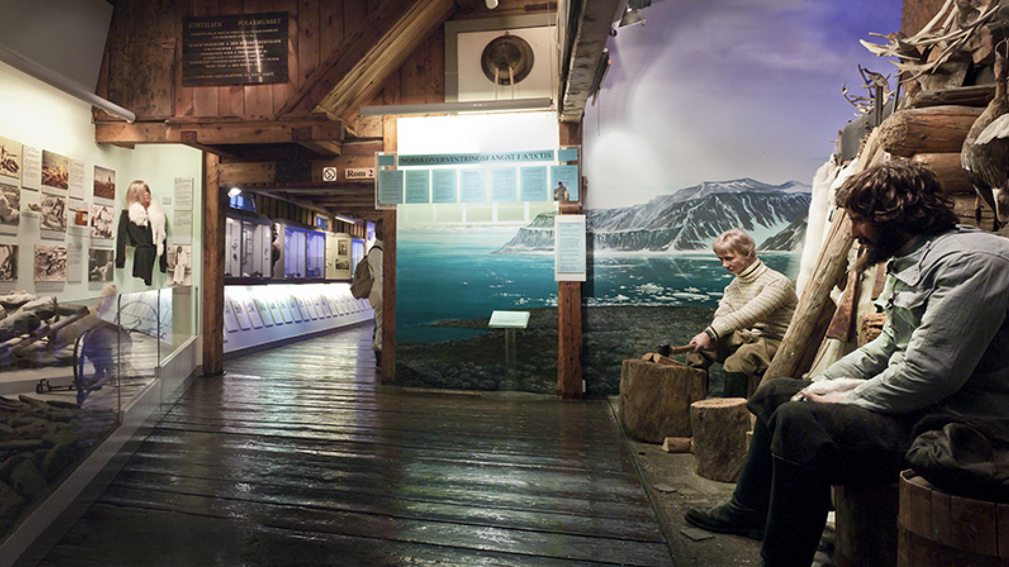 Omvisning på Polarmuseet - Tromsø Museum