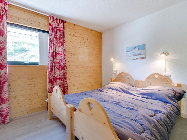 3 Room 7 Pers Ski-in Ski-out / LA CHALLE 635