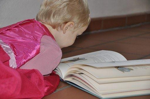 Sagostund på Tingsryds biblioket