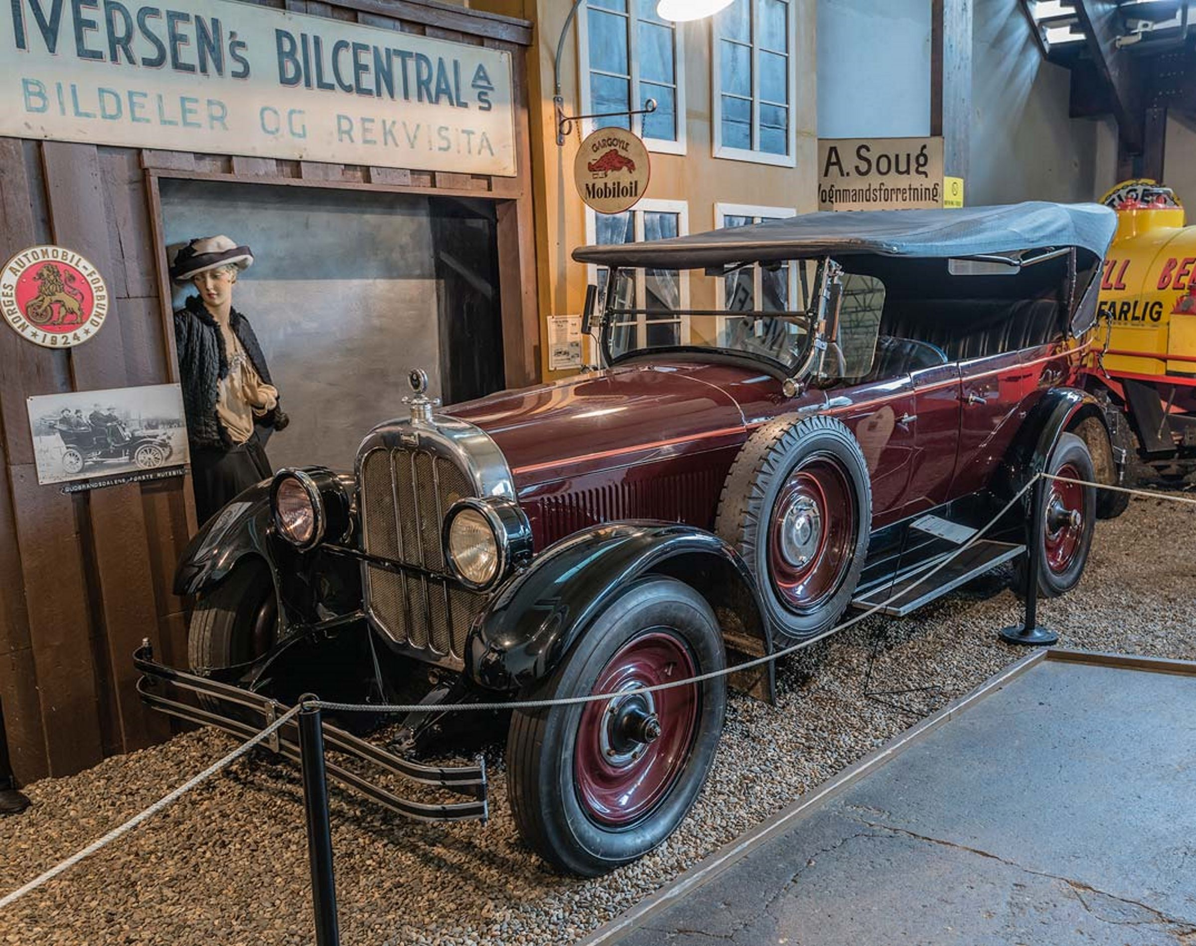 Norsk Kjøretøyhistorisk museum i Lillehammer